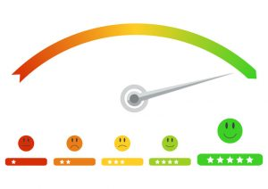 Feedback scale poor to excellent